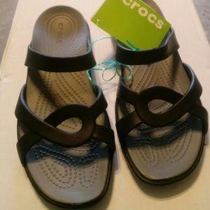 New crocs sandals